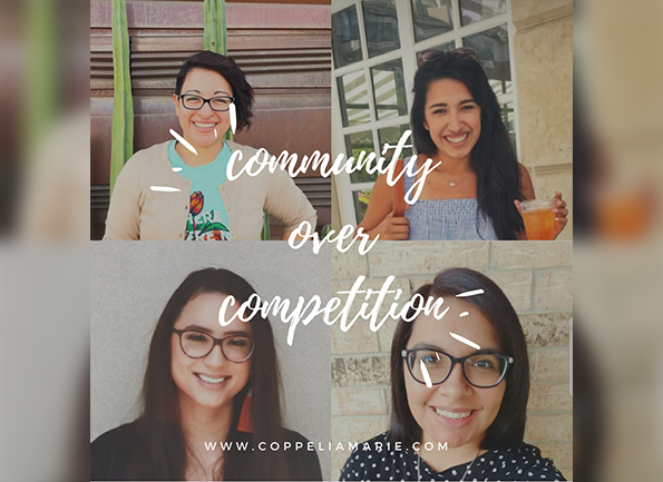 Community Over Competition blog image