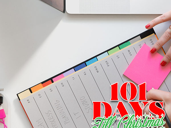 101 Days till Christmas Day 92 BEST tip to help you plan for success this fall