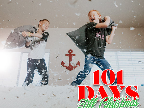 101 Days till Christmas Day 99 No more holiday family fights