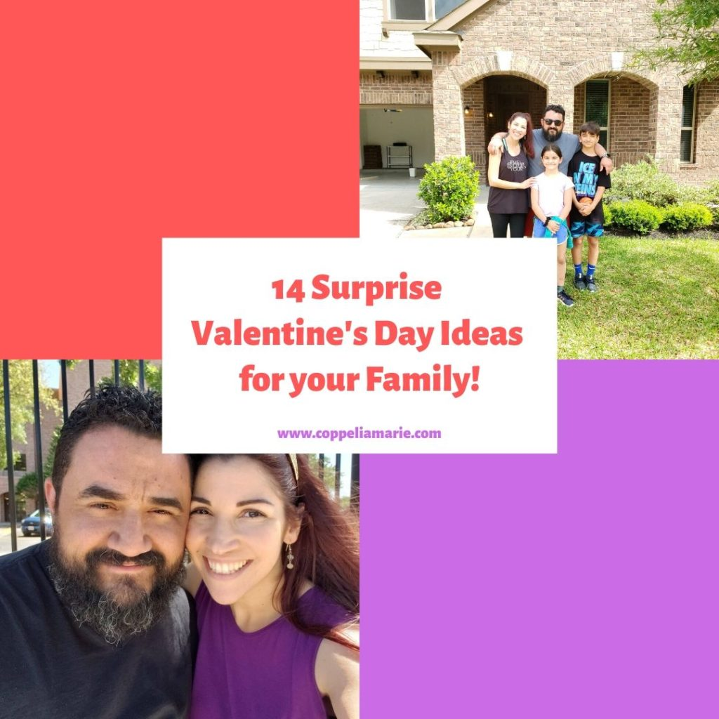 14 Surprise Valentine's Day Ideas for your Family!