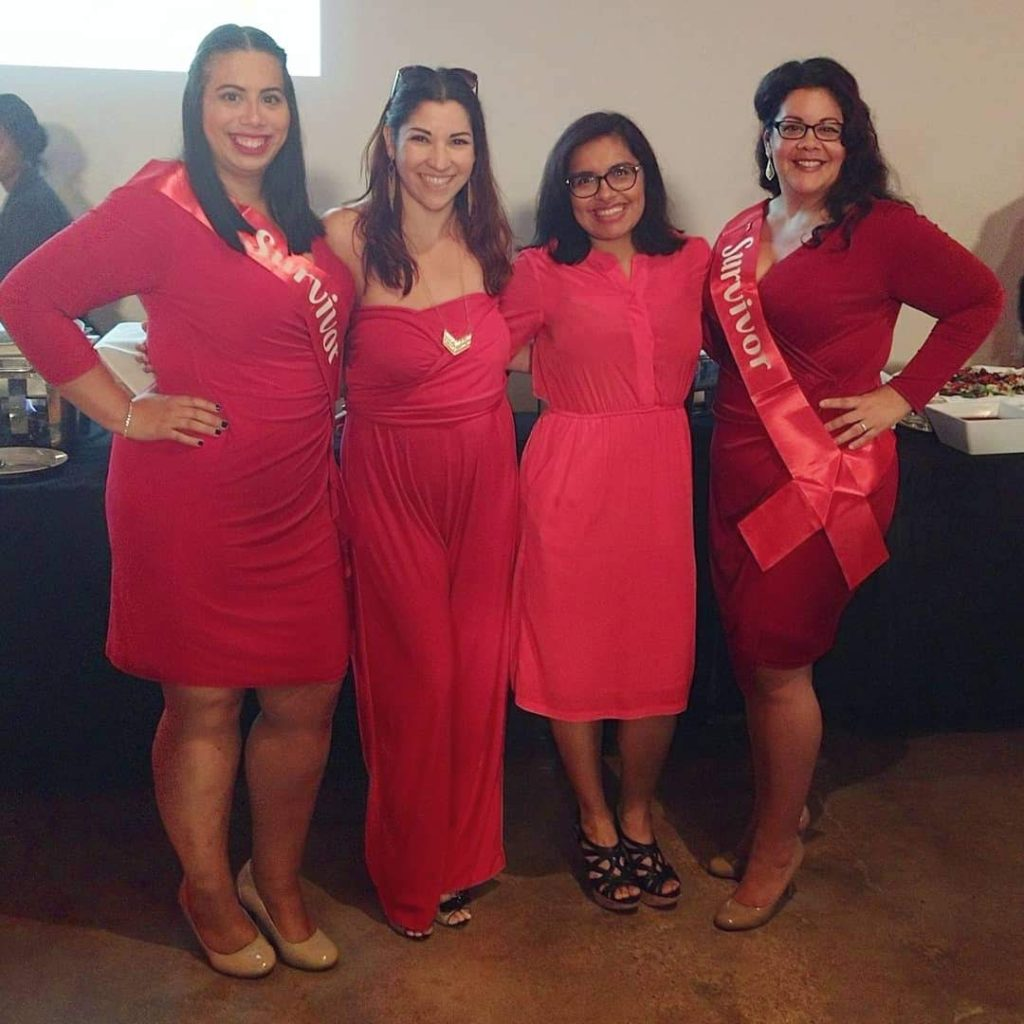 Go Red for Women Luncheon Houston for heart health